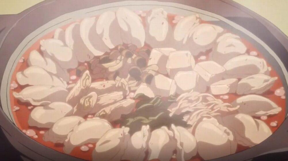 【ゆるキャン△】丸和商店さんの餃子で坦々鍋を作ってみました